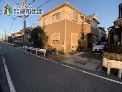 【前面道路含む現地写真】加古郡播磨町 中古戸建