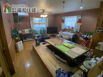 【居間・リビング】加古郡播磨町 中古戸建