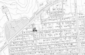 【地図】緑ヶ丘5丁目 中古戸建
