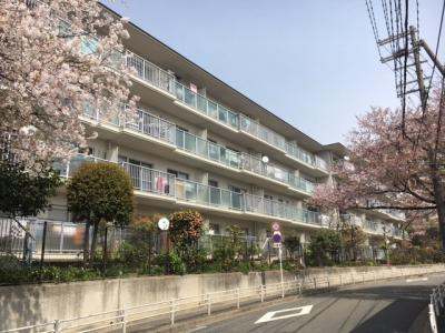 【外観】千里山田コーポラスC棟