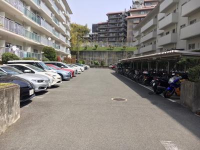 【駐車場】千里山田コーポラスC棟