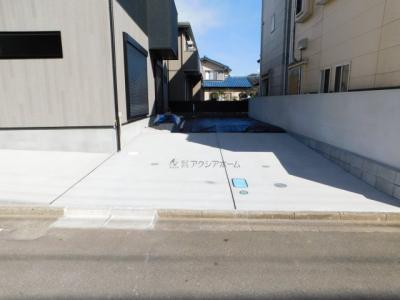 【駐車場】狭山市根岸1丁目・全1棟 新築一戸建 ~贅沢な高機能住宅~