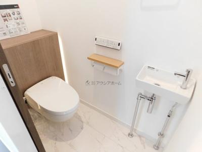 【トイレ】狭山市根岸1丁目・全1棟 新築一戸建 ~贅沢な高機能住宅~