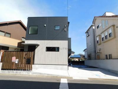 【外観】狭山市根岸1丁目・全1棟 新築一戸建 ~贅沢な高機能住宅~