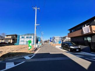 グランファミーロ小倉 全28区画の大型分譲地。45坪以上ある区画で様々な建築プランに対応可能です♪