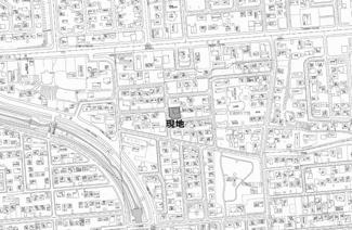 【地図】北進町5丁目 中古戸建
