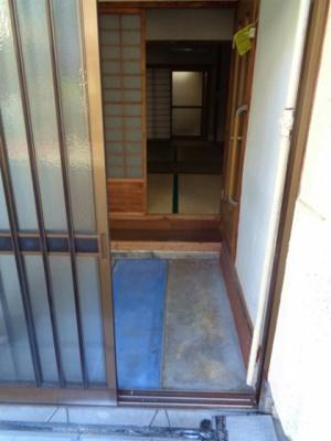 【玄関】鷹合1平野貸家