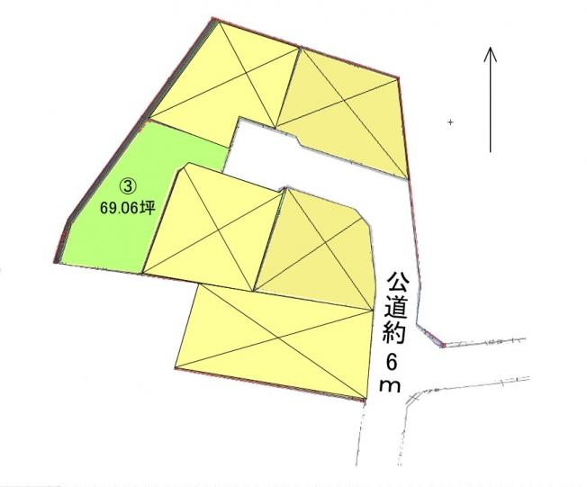 土地区画図です。