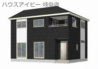 岐阜市中川原 新築戸建全2棟  2.5帖テレワーク部屋あり お車スペース3以上台可能