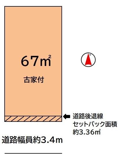 【土地図】粉浜3丁目売土地