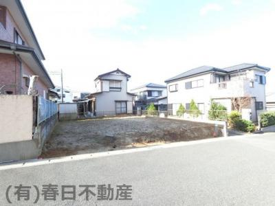 【外観】星久喜町・売土地(建築条件なし)