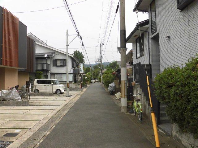 【前面道路含む現地写真】京都市山科区厨子奥尾上町