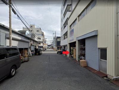 【周辺】生野区巽南/倉庫事務所 2階建て 約93坪!貨物EVあり