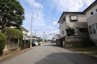 千葉市若葉区小倉台 土地 小倉台駅 前面道路は広く、大通りから一本入った立地のため、 交通アクセスは良好です!