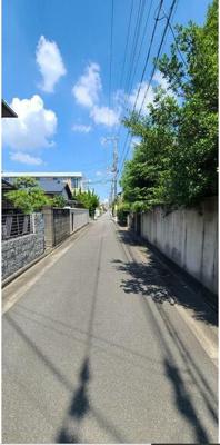 【前面道路含む現地写真】和歌山市和歌川 売土地