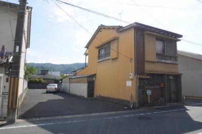 【外観】津山市福渡町 売土地123坪(現状渡し)