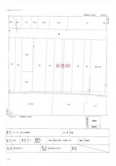 【土地図】津山市 福渡町 売地 123坪