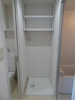 小林ビル 洗濯機置き場は室内(脱衣所)にあります