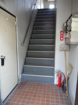 藤ハイツ 共用廊下・階段