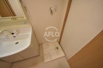 FUKUE BLD  室内洗濯機置き場