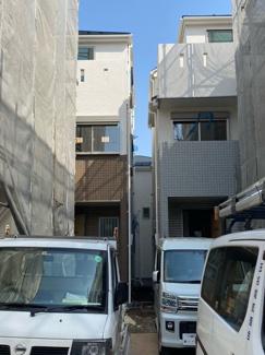 【外観】【売主】 マニフィーク平間Ⅸ B号棟 川崎市中原区上平間