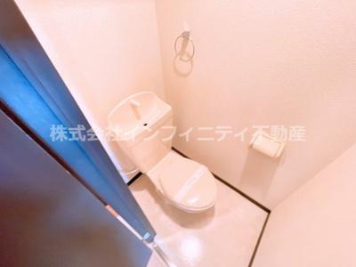 清潔感あるトイレです