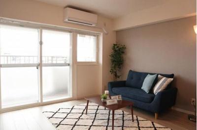 エアコン付きで、ご入居後すぐにおくつろぎいただけます。