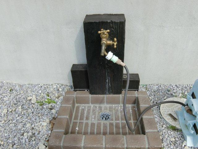 外水栓も完備