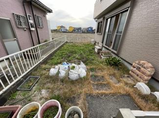 お庭も十分な広さを確保しております。