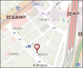 【地図】幸福ビル
