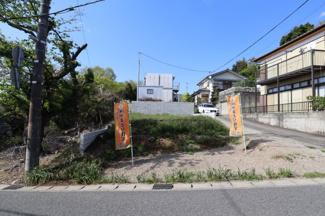 グランファミーロ生実町 南道路に面した日当たり良好な土地で注文住宅に適しています。
