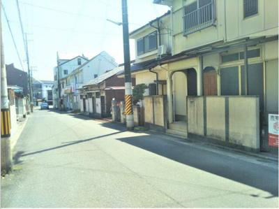 【前面道路含む現地写真】和歌山市鷹匠町 売土地