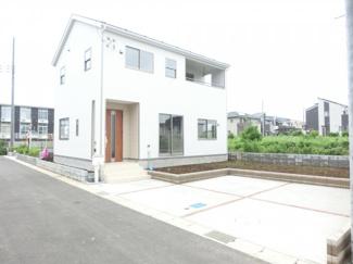 成田市本城 新築一戸建 施工例です。