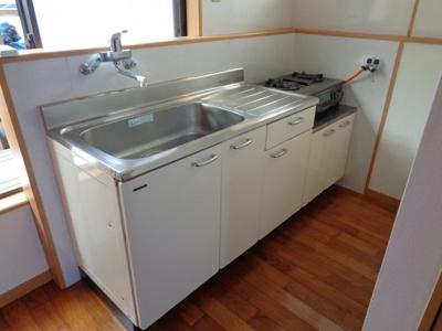 【キッチン】K邸2F(宇宿1丁目)