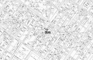 【地図】北六条東4丁目 売土地