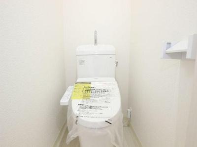 現代の必需品、ウォシュレット付トイレが備わっています。