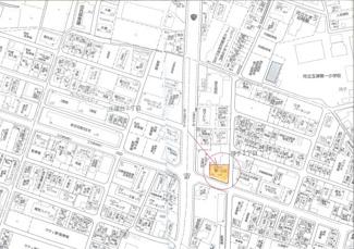 【地図】コカワ第一ビル
