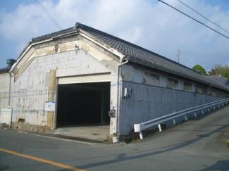 【外観】池本倉庫 北150坪
