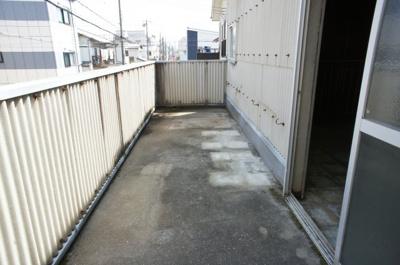 【バルコニー】樽屋町事務所付倉庫
