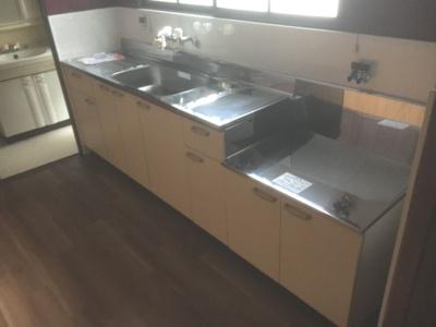 【キッチン】寺家町貸家B号室(連棟)