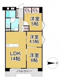 パルティ川西 8階