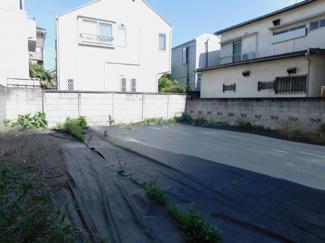 【外観】中野区若宮3丁目 建築条件なし土地
