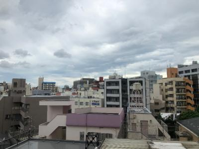 10階建4階部分からの眺望です。
