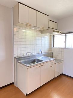 キッチンです、ガスコンロ設置可能