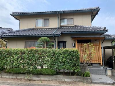 【外観】鳥取市若葉台南6丁目中古戸建