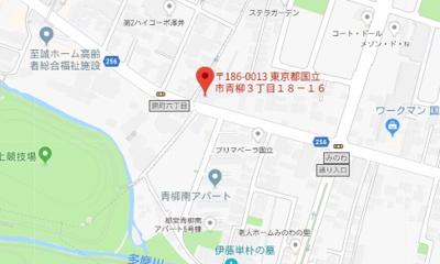 【地図】レオパレス光草(36599-201)