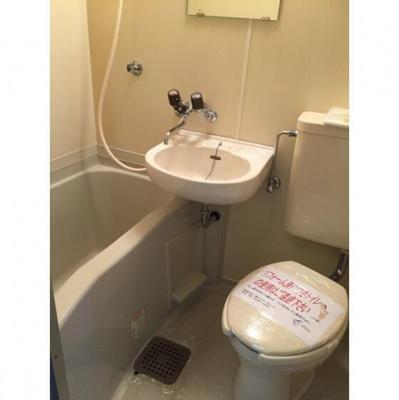 【浴室】コーポ大仏