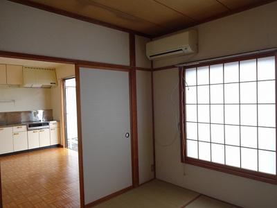 和室6帖(南側)エアコン付