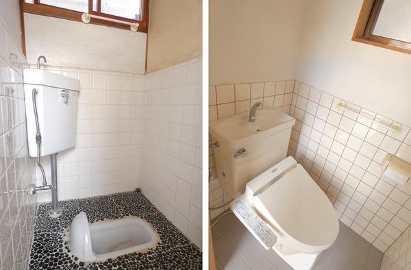 和式と洋式のトイレがございます。