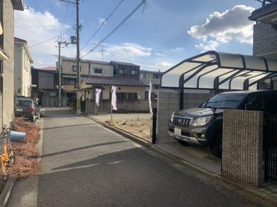 【外観】堺市常磐町 建築条件なし売土地